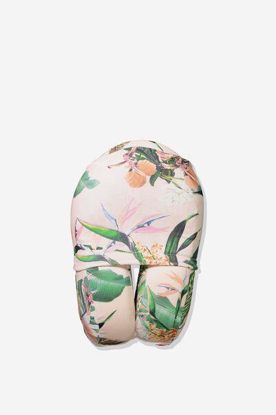 Foam Travel Neck Pillow, BIRD OF PARADISE