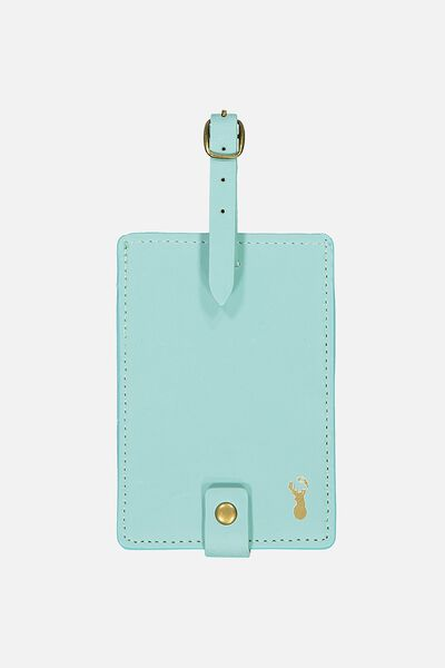Buffalo Luggage Tag, BLUE