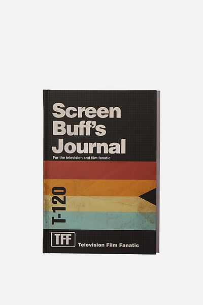 "A5 Fashion Activity Journal (8.27"" x 5.83""), SCREEN BUFFS JOURNAL"