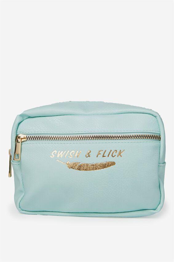 Multi Zip Cosmetic Case, LCN SWISH & FLICK
