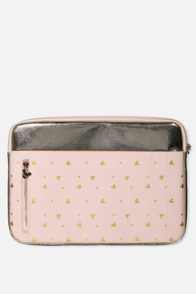 "Take Charge Laptop Cover 13"", LCN BLUSH MICKEY YARDAGE"