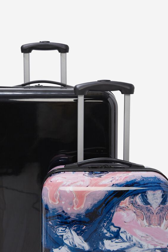 Suitcase Set With Tsa Lock, MOODY MARBLE