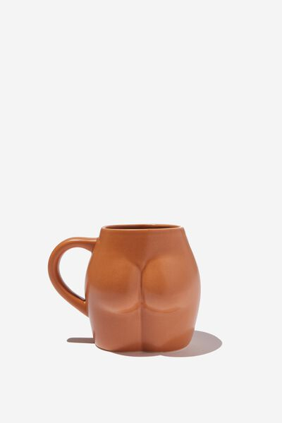 Novelty Shaped Mug, ROUND BUTT!