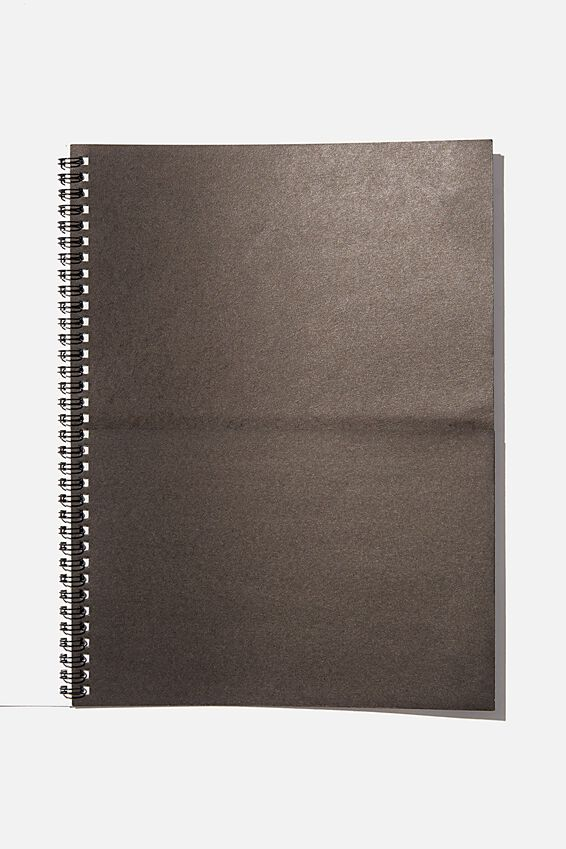 A4 Spinout Notebook Recycled, SAVE THE WORLD