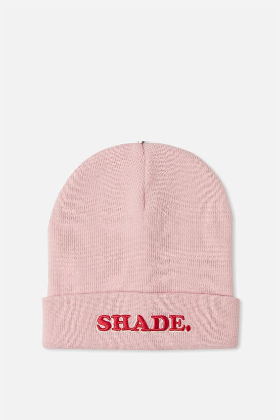 Personalised Beanie, NO SHADE