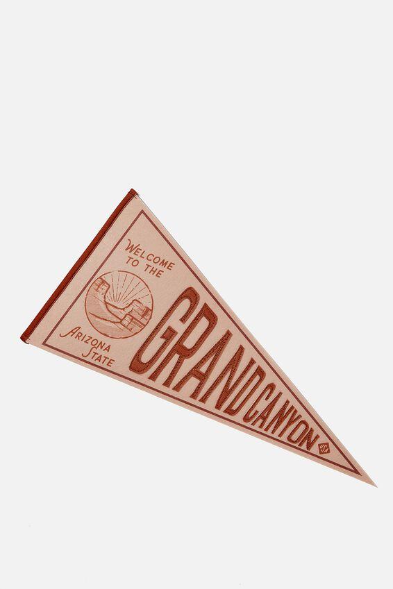 Pennant Wall Flag, GRAND CANYON