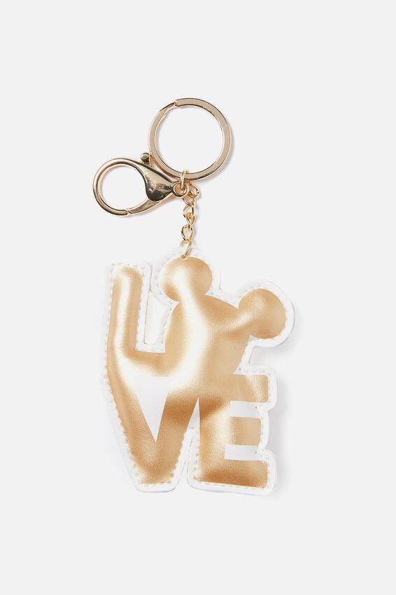 Bag Charm, LCN MICKEY PUFFY LOVE