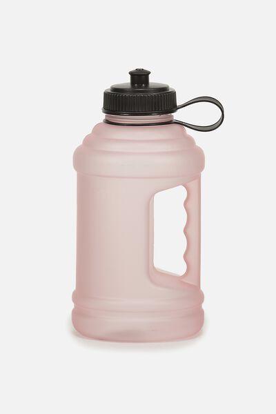 Big Cooler Drink Bottle, PINK RUBBER