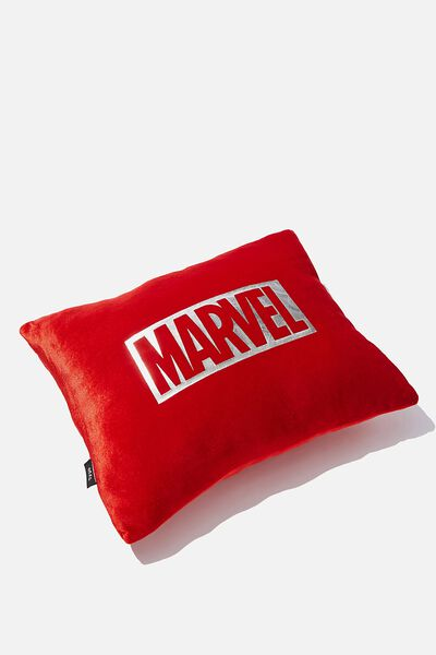Get Cushy Cushion, LCN MARVEL LOGO