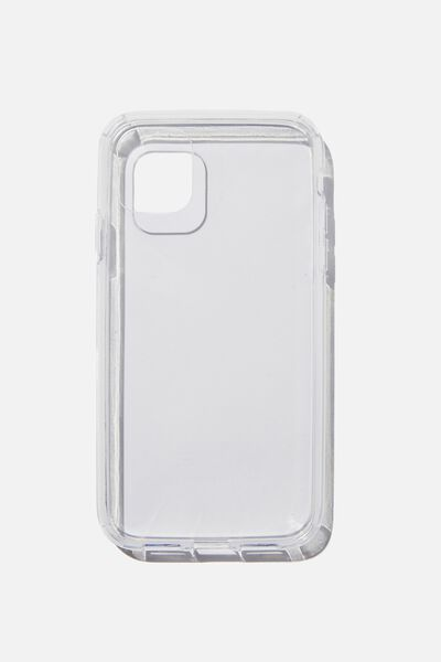 Snap On Protective Phone Case Iphone 11, CLEAR GLASS