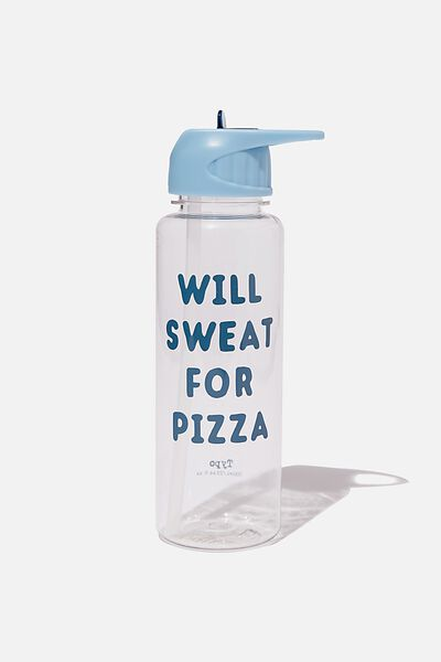 Hydrator Drink Bottle, SWEAT FOR PIZZA