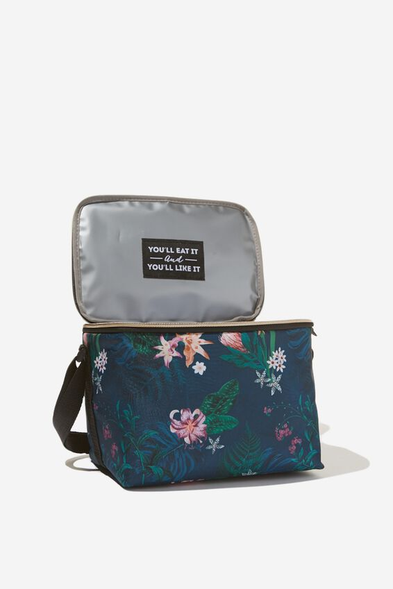 Cooler Lunch Bag, JUNGLE FLORAL