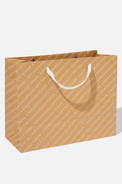 Stuff It Gift Bag - Medium, CRAFT MAGNIFICENT HUMAN