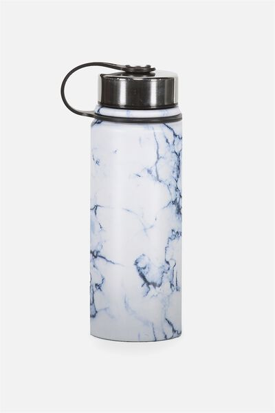 The Striker Metal Drink Bottle, MARBLE