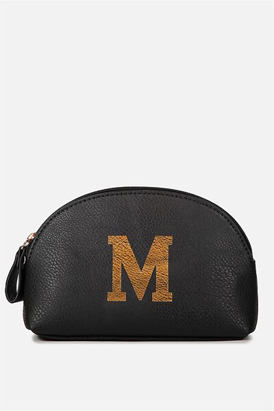 Alphabet Cosmetic Bag, M