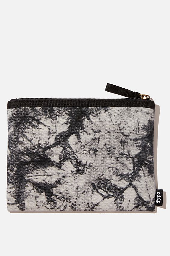 Conscious Campus Pencil Case, BLACK TIE DYE