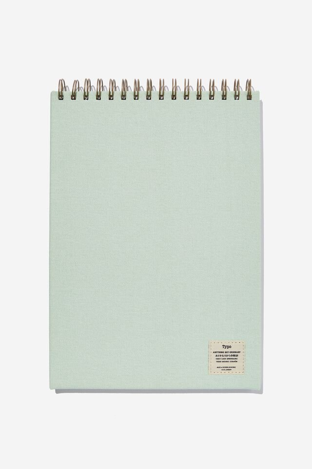 A4 Spiral Sketch Book, SPRING MINT