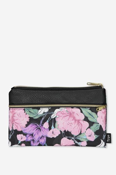 Archer Pencil Case, SAGE FLORAL