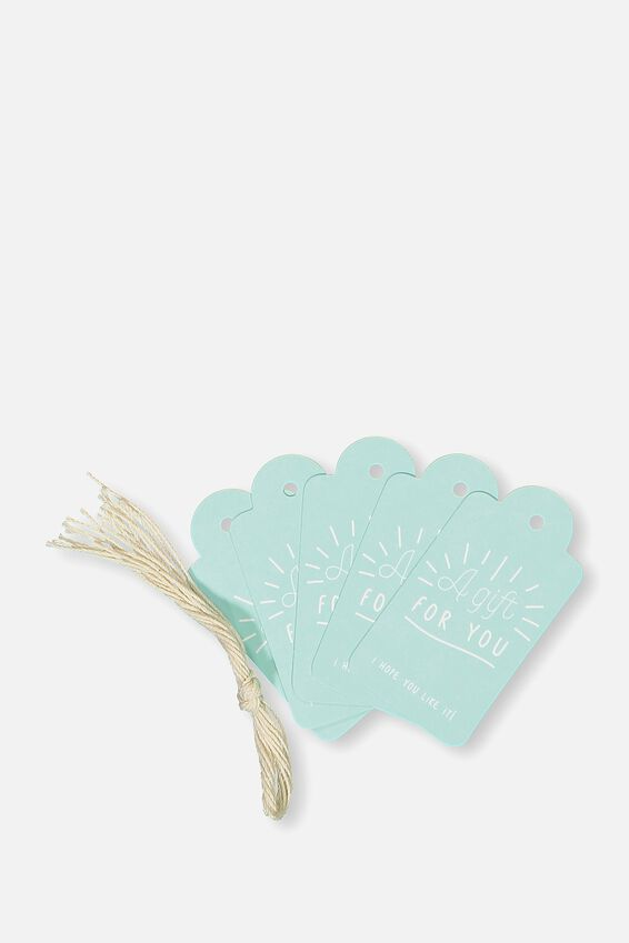 Gift Tags Set 10, FOR YOU