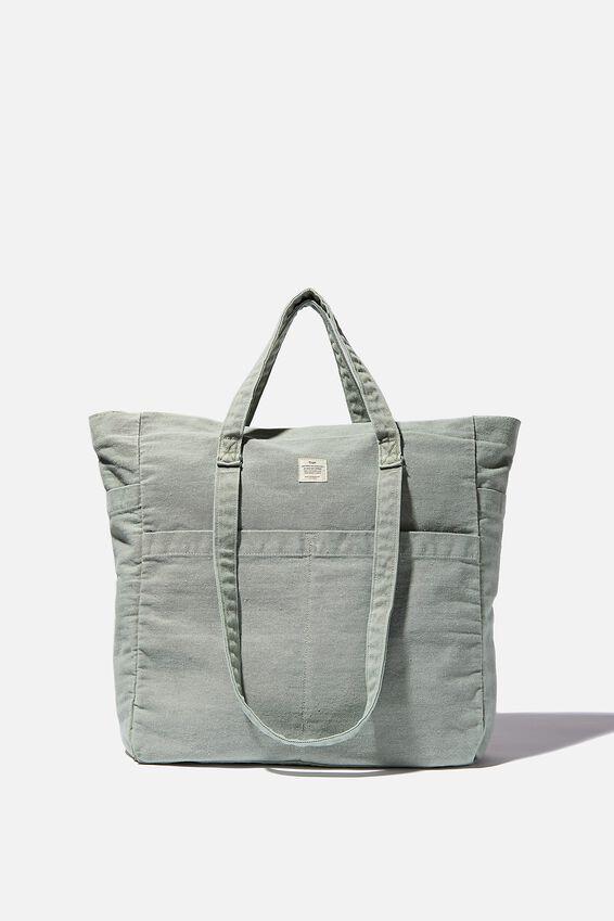 The Studio Tote Bag, GUM LEAF