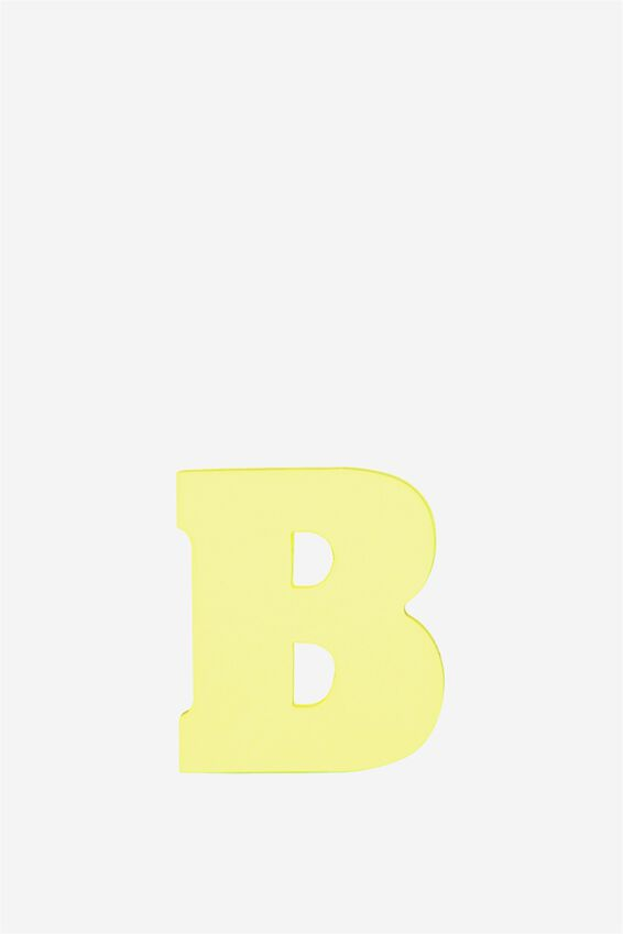 Alphabet Sticky Notes, B YELLOW