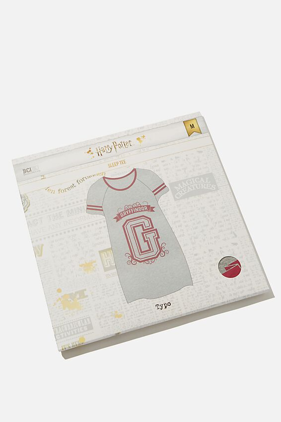 The Harry Potter Sleep Tee, LCN WB HPO GRYFFINDOR COLLEGE