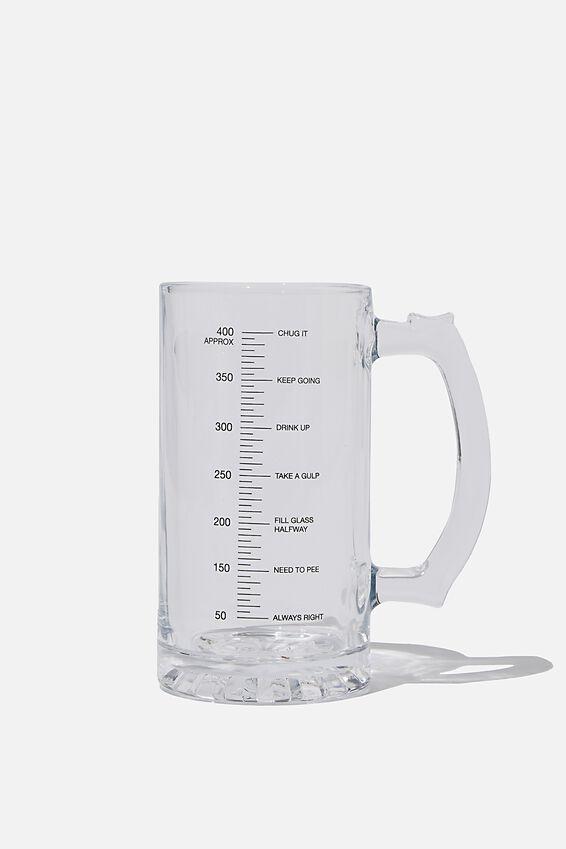 Beer Glass Mug, NEED TO PEE
