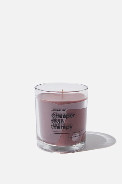 Food Scented Candle, CHOCOLATE THERAPY