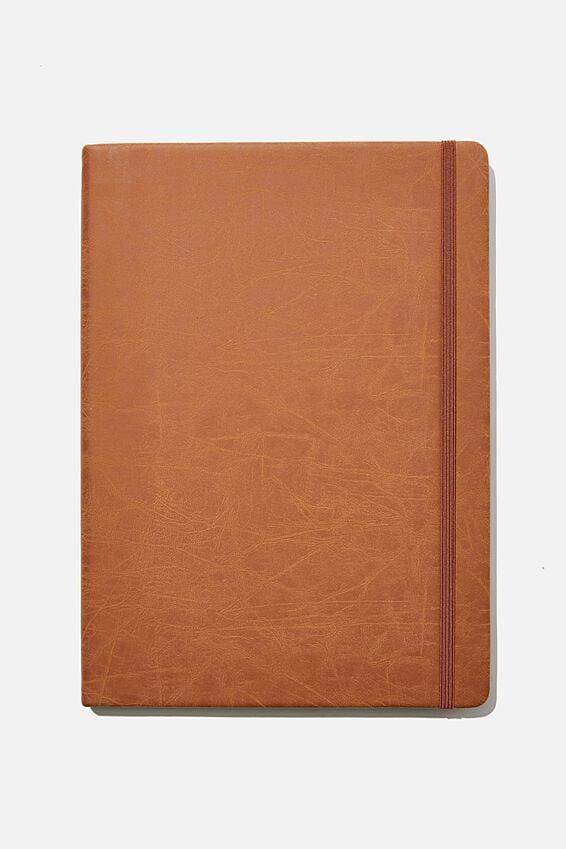 "A4 Buffalo Journal (8.2"" x 11.6""), MID TAN"