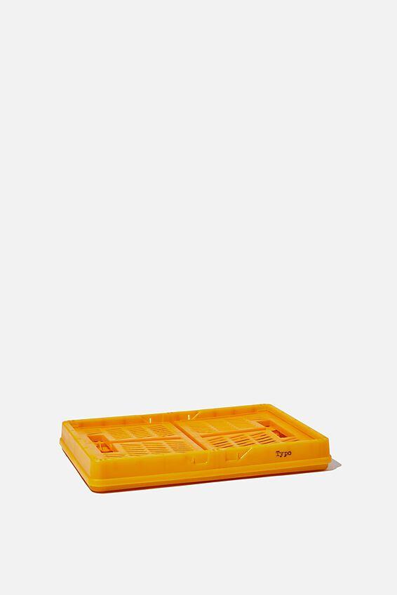 Small Foldable Storage Crate, TUMERIC