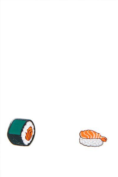 Novelty Earrings, SUSHI 2