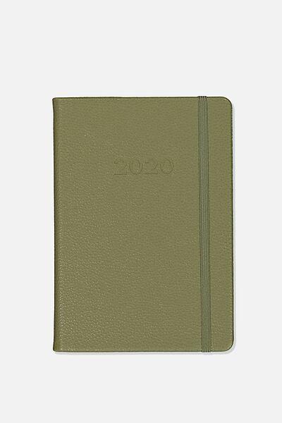 2020 A5 Weekly Buffalo Diary, KHAKI