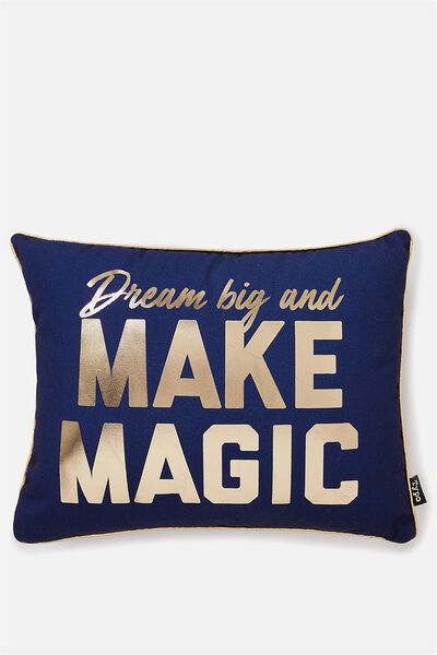 Get Cushy Cushion, MAKE MAGIC