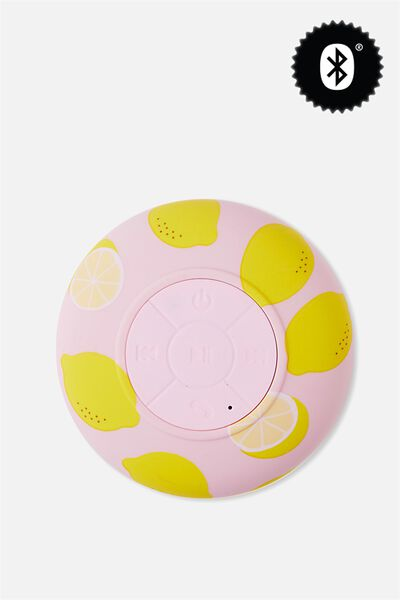 Waterproof Bluetooth Shower Speaker, LEMON YARDAGE