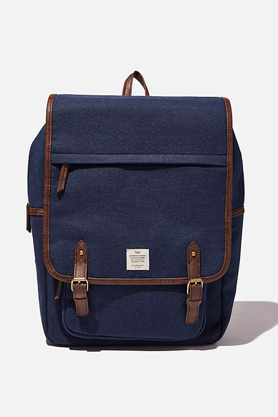 Heritage Backpack, WASHED NAVY