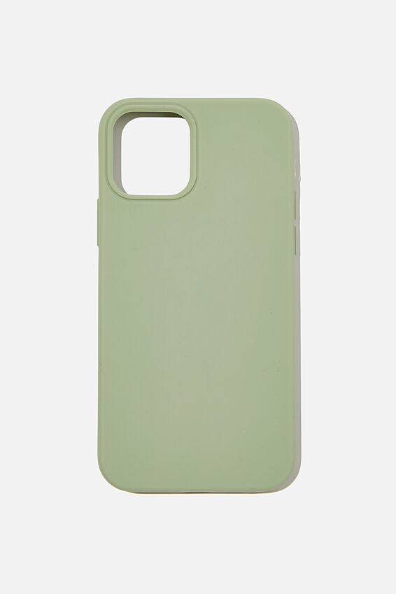 Recycled Phone Case Iphone 12, 12 Pro, GUM LEAF
