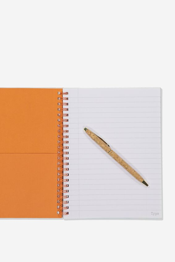 Small Spinout Notebook - V, STATE OF MIND