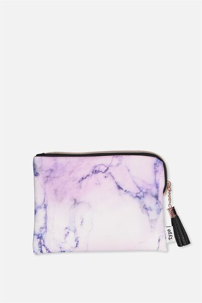 Luxe Pencil Case, LUSH MARBLE