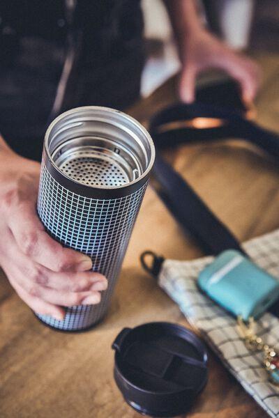 Travelling Tea Drinker, CHECK GRID