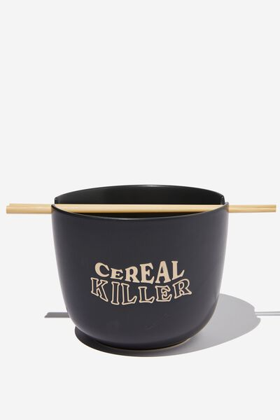Feed Me Bowl, CEREAL KILLER