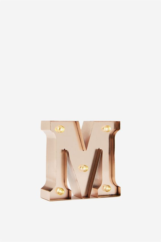 Mini Marquee Letter Lights 10cm | Tuggl