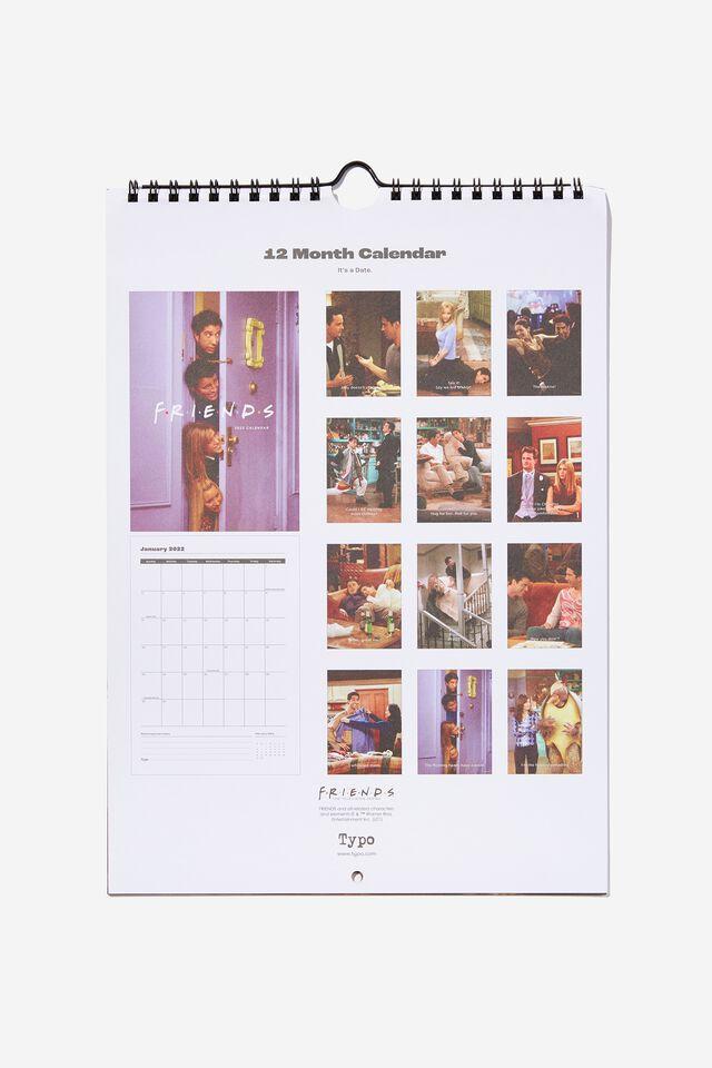 2022 Friends Get A Date Calendar, LCN WB FRIENDS