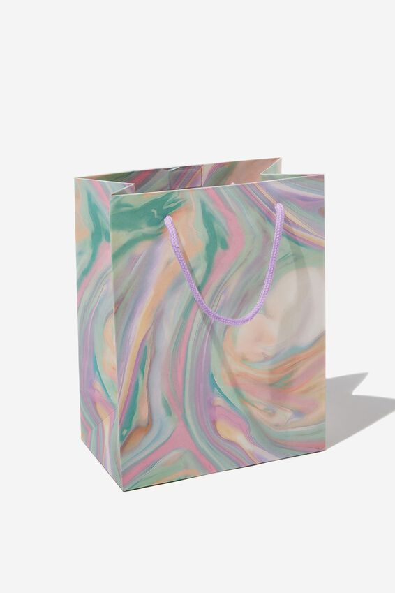 Small Stuff It Gift Bag, GELATI MARBLE
