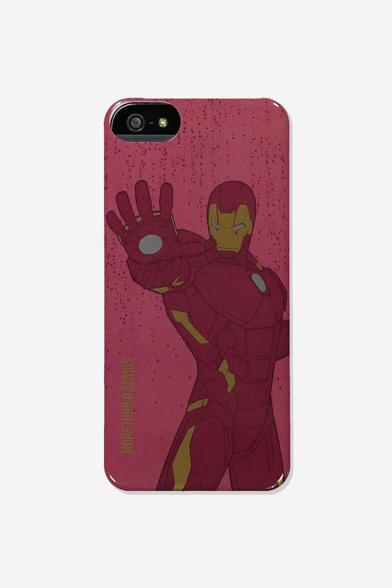 Marvel Printed Phone Cover Universal 6,7,8, LCN MARVEL IRON MAN
