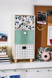 Trio Stacked Drawers, TERRAZZO MULTI