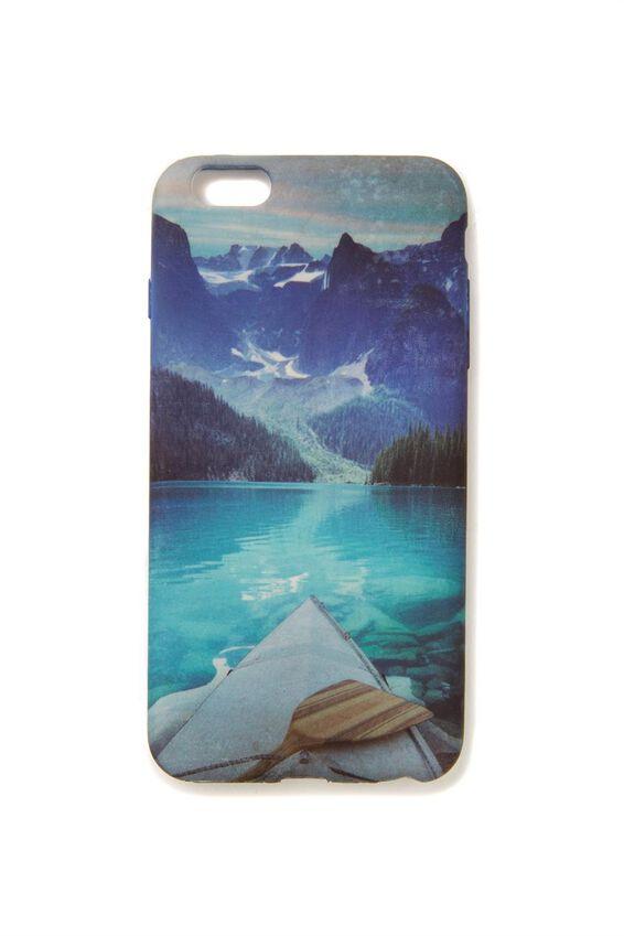 Printed Phone Cover 6 Plus, CANOE