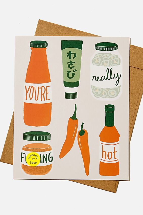 Valentines Day Card 2021, YOU RE REALLY F*CKING HOT!!