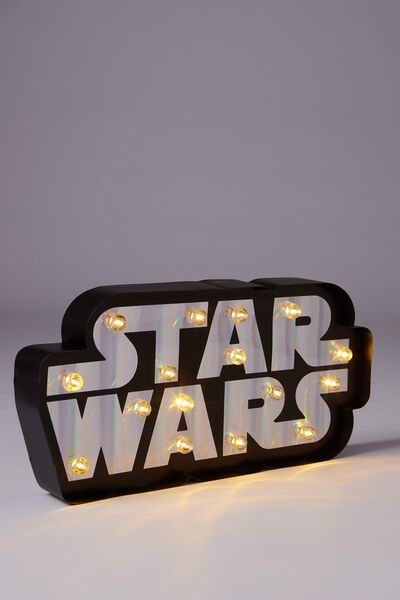 Large Marquee Light, LCN STAR WARS LOGO