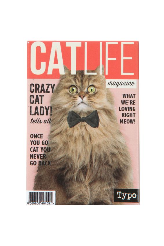 Quirky Magnets, CA CAT MAG