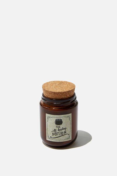 Potion Jar Candle, HEALING POTION